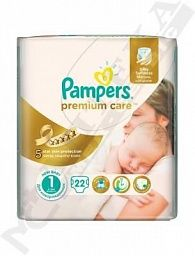 *Подгузники Pampers Premium Care Newborn 2-5 кг №22