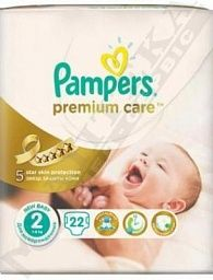 *Подгузники Pampers Premium Care Mini 3-6 кг №22