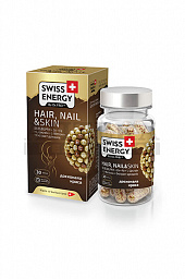 Витамины Swiss Energy Hair, Nail & Skin капс. №30