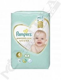 Подгузники Pampers Premium Care Maxi 9-14кг №18