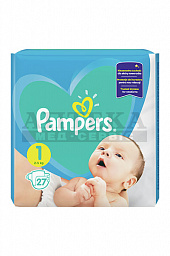 Подгузники Pampers BABY-DRY PLUS Newborn №27
