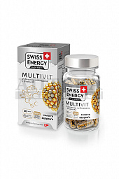 Витамины Swiss Energy MultiVit капс. №30